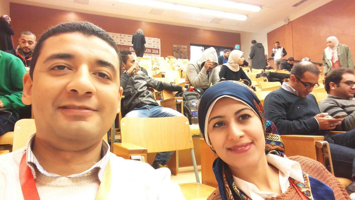 @Hatgawez team selfie @AUC_Vlab  #Shoukawskena #mirinda https://t.co/R9yIOVvuF0