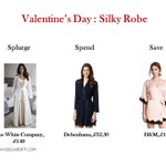 Save, Spend or Splurge!: Treat yourself to a silky robe for #ValentinesDay https://t.co/iIruPCcfUh
