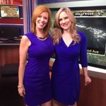 .@jendalton12 and I wore the same color again. We really dont plan it! @Local12 #GMC #sister https://t.co/IGBZKma1DQ