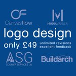 Logo design ONLY £49! Unlimited revisions https://t.co/QFq4iULmgB #doncasterisgreat #DNB #87RT #KPRS @UKBDirectory https://t.co/qjOdXuciqU
