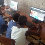 @HigherLifeFDN team registers new students onto the #RuzivoDigitalLearning platform #twimbos #263chat @T_Masiyiwa https://t.co/tVF7vO6uOh