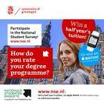 How do you rate your degree programme? Participate in the National Student Survey, https://t.co/uVCSR7hxkv https://t.co/iFkbdTpq33