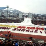 On the opening of the Sarajevo Olympics, which opened 32 years ago today. https://t.co/ofeYmOoCfh by @BiHIrishcoffee https://t.co/A2aTMyctzB