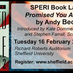 Promised you a miracle - @SPERIshefuni book launch. Tuesday 16th Feb https://t.co/fG3Tx7rauQ #sheffieldissuper https://t.co/cIF2TVSzAs