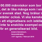 Vår generaldirektör Anders Danielsson i #Agenda igår: https://t.co/Q6WKbYv933