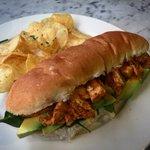 Warm Chipotle Chicken & Avocado. #newsandwich #lunch #cardiff #sandwich #cardiff #chipotle https://t.co/IYWbUN7UHo