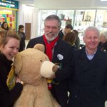 Bumped in2 Teds cousin Theresa Bear in Tallaght. She is voting SF. Cant stand other parties. https://t.co/hC3gNdRs34