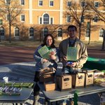Grab some free coffee and food in the Library Mall! #UNT https://t.co/XEIVny8OYv