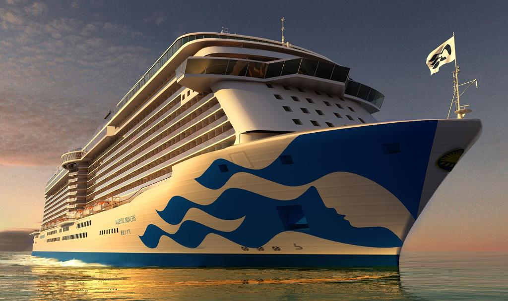 We're debuting our new livery design on Majestic Princess. RT if you like our new look! https://t.co/Bv5iV9CE7u