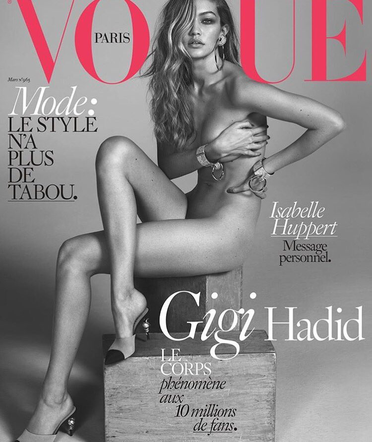 ❤️ @gigihadid you are my fucking spirit animal! Epic fucking cover!Bawwwwdy for days! Lezz-be-honest.... I'm in love https://t.co/2JZlMAAziq