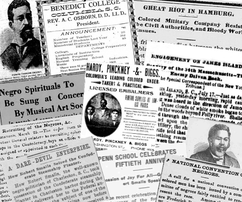 Historic African American newspapers now available on #ChronAm https://t.co/utQUh918ci #NEHgrant #BlackHistoryMonth https://t.co/H3EMVFTICC