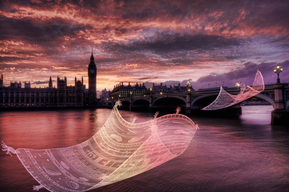 """London Wonderland"" New collab with illustrator Cecile Vidican. My photos + Her illustrations @visitlondon #london https://t.co/rVhOIZcvQI"