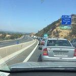 Gran taco en ruta 68 desde y hacia Santiago, cerca de túnel Lo Prado. No se sabe l causa @adnradiochile @biobio https://t.co/u6ZfUMyq1M