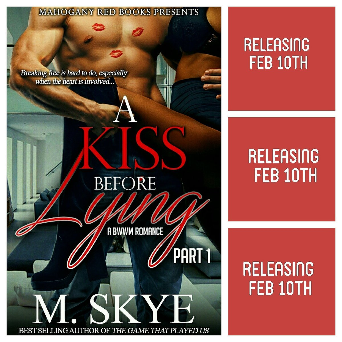 """Retweet the """"A Kiss Before Lying: A BBW Romance """" by @iammskye flyer for your chance to win a free copy https://t.co/BJk0zTSakE"""