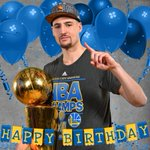 #DubNation, please join us in wishing @KlayThompson a very Happy Birthday! 🎈 https://t.co/0tnELCLuOc