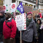 Campaigners march against @cardiffcouncil arts cuts https://t.co/GJRK6lQIoZ https://t.co/NQOWPm9T9g