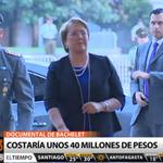 ???? #T13Tarde | Polémica por documental sobre segundo mandato de Pdta. Bachelet. EN VIVO » https://t.co/a0KmrUrdjk https://t.co/IROZhWGV1G