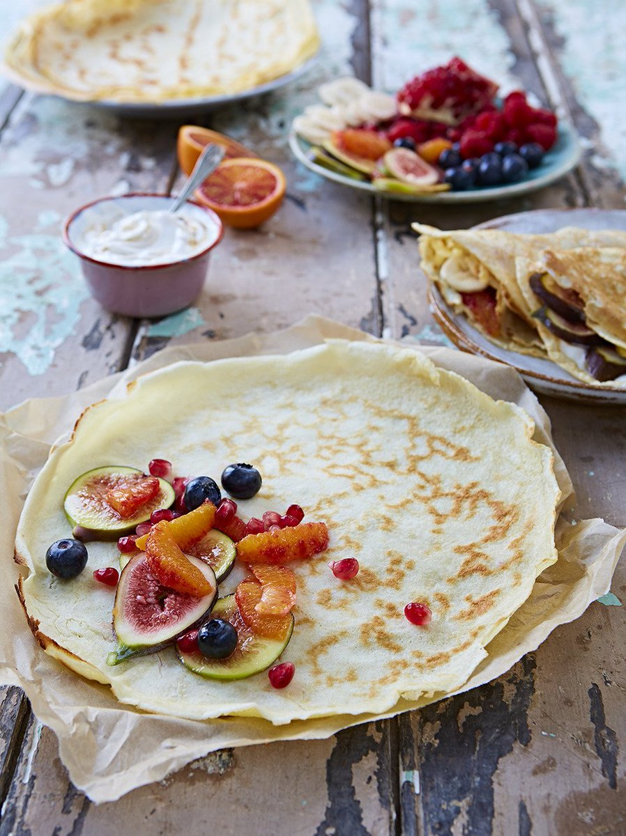 #RecipeOfTheDay is this versatile crêpe recipe. Make it sweet or savoury! https://t.co/NkPBA9QcZn #PancakeDay https://t.co/JCPlqYHklq