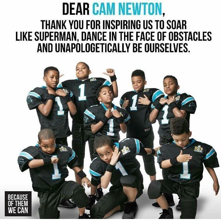 Thanks.  @cameron1newton  u are respected and loved  for who u are not what u are thank u nefew ????✨???????????????? https://t.co/9gwk4DNI6v