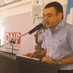 """Toma la palabra el Gob. @EdwinBesaile en #DialogosParaLaPlaneación. """"Vamos a construir el corredor turístico"""". https://t.co/3S7gWAijsh"""