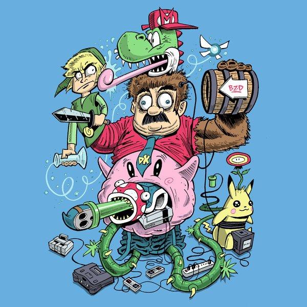 Nintendo Monster par MisterBZD https://t.co/KOQX1jgtjv