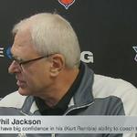 """Its a lot easier to fire a coach than 15 players."" - Phil Jackson #LIVEonSC https://t.co/WSLTfJq1Qa"