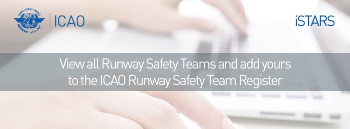 View all Runway Safety Teams and add yours here: