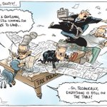 Brilliant @davpope - bet this one is now on the wall at Treasury Canberra #auspol https://t.co/RY4ubgqQOA