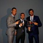 My third Pichichi award! Proud to be the best scorer of La Liga. Thank you all. https://t.co/94tD8dBuHa