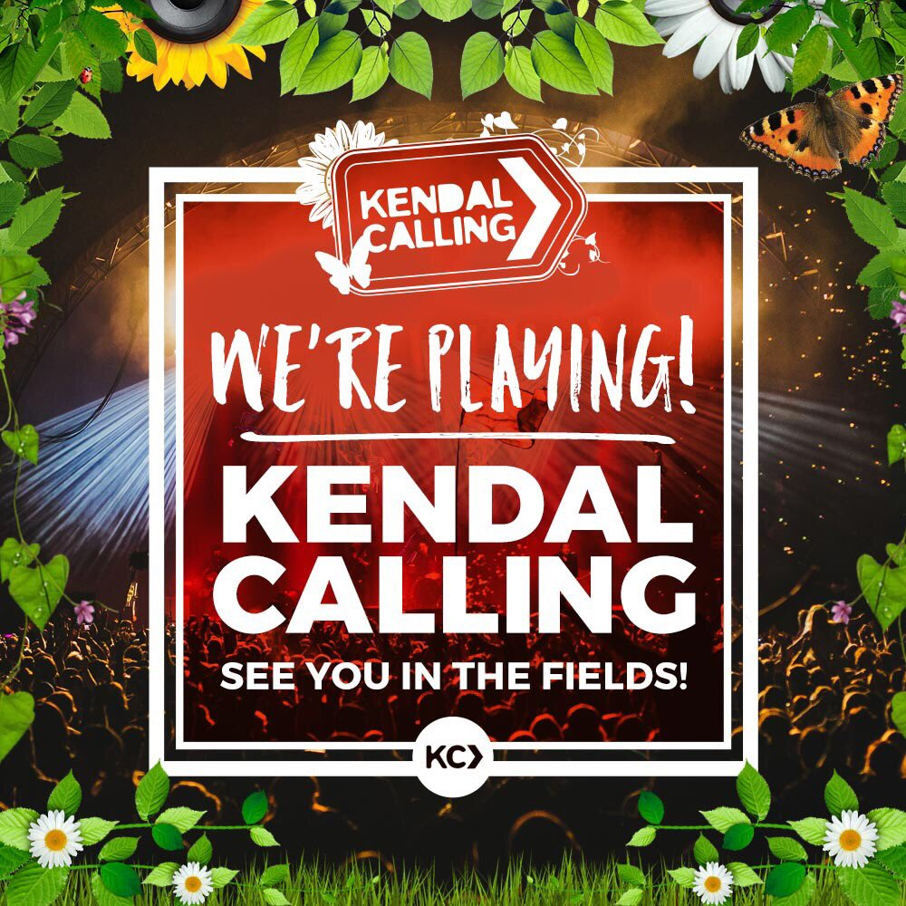 We're playing Kendal Calling 2016! WIN two pairs of tickets & boutique camping by RTing this! #seeyouinthefields https://t.co/F6N4r4soK9