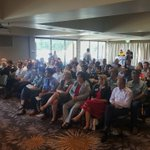 Great turn out for the @AdvanceQld forum in #Toowoomba today! #AdvanceQld https://t.co/YBO7NRFZqF