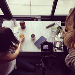 Behind-the-camera at our own #photoshoot last week @cloudroomsea! Site updates coming soon! #design #Seattle #UIUX https://t.co/Op7N2AYmm1
