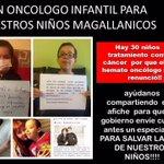 Cómo es posible que en Punta Arenas carezcan de oncólogo infantíl y el Gobierno gaste 40 millones en un documental? https://t.co/lH1RV9n3av