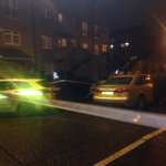 At the scene of fatal shooting on Portland Row, north inner city https://t.co/Q2IeFkd12Y