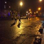 The scene of shooting at Poplar Row. Man in his 50s shot. Large Garda presence at scene #NEWS #DUBLIN https://t.co/E0ya5TWi6h