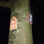Some lovely fairy doors fairy in Springfield in Tallaght this evening! https://t.co/lGuAo2GOIX