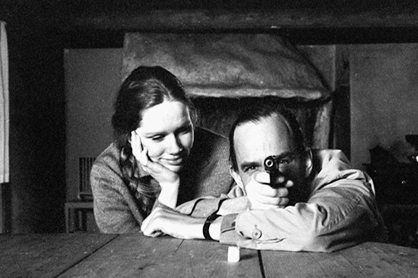 """We make each other alive; it doesn't make a difference if it hurts.""   Ingmar Bergman and Liv Ullmann, 1968. https://t.co/1uT04Lcgim"