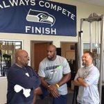 See @TitusONeilWWE & @TestifyDVon visit the @NFL @Seahawks training facility! WATCH: https://t.co/iiFumW3wAX https://t.co/wao8TGJYTY
