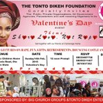 @T_D_Foundation Presents; The Best place to be on Valentine's day https://t.co/WIVb8BXM8c cc @TONTOLET