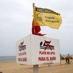 Reñaca con prohibición de baño debido a fragata portuguesa: https://t.co/D0xLV9PDEt https://t.co/IArX3co53h