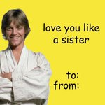 Love you like a sister #BadValentineIn5Words https://t.co/BnzDF4P45i