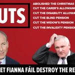 Fianna Fail destroyed the country & lost 300,00 jobs. All they did to try and fix it was make CUTS! #CBLive https://t.co/Q8knibX64M