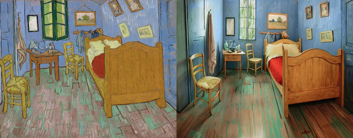 Want to spend a night in one of the world's most famous paintings?  Available tomorrow on @airbnb. #VanGoghbnb https://t.co/9iYtcMmYUX