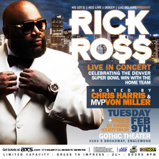 Denver: @rickyrozay and @Millerlite40 are throwing a party tomorrow, and you're invited. https://t.co/dBc1hIZlZD https://t.co/8JV84D06JN