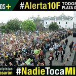 ¡En la lucha del pueblo nadie se cansa! #Alerta10F #NadieTocaMiRC @MashiRafael @SomosMasEc @dorissoliz https://t.co/kzQKxzymXp