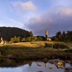 Sunset over Glendalough in Summer. A sensational spot! #beautiful #ireland https://t.co/FuI8kOpEHy