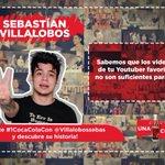 Quiéres conocer los secretos de @villalobossebas que no salen en YouTube? No te pierdas #1cocaColaCon este Miércoles https://t.co/VfoRwGobdX