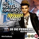 ¿Quieres ir #DelHotelAlConciertoDeAbrahamMateo? ¡Las instrucciones en el instagram de @Planeta947! @AbrahamMateoMus https://t.co/8dgymG38qF