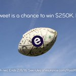 $250K could be headed your way! Theres just 5 hours left to enter the #EsuranceSweepstakes. RT to enter! https://t.co/2SyLe62TtQ