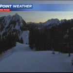 Looking good at @StevensPass at sunset! Tuesday will be another bluebird day. #wasnow #wawx https://t.co/LnUdfDoz4C